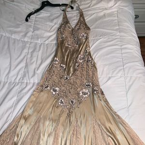 worn once formal dress ( prom or homecoming dress)